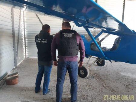 На Житомирщині розшукали літак, який порушив українсько-румунський кордон