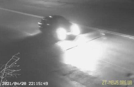 У Житомирі водій втік з місця аварії, залишивши на дорозі свій автомобіль
