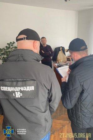 На Житомирщині СБУ викрила на корупції двох посадовців поліції