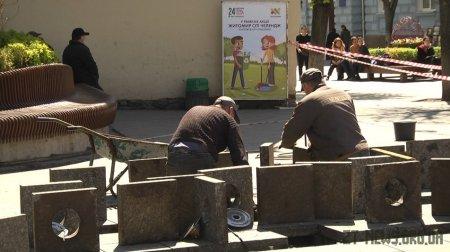 У Житомирі в тестовому режимі почали працювати 6 фонтанів