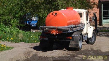 Асенізаторні служби відновили роботу у Житомирі