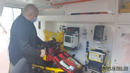Житомирська область отримала ще 11 нових автомобілів екстреної медичної допомоги