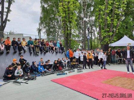 У Житомирі з'явився спортивний майданчик для занять екстремальними видами спорту