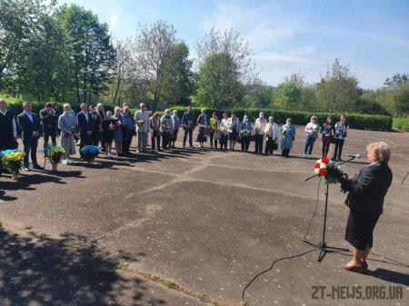 Житомиряни вшанували пам'ять жертв політичних репресій