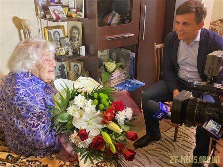 Найстарша жителька Житомира Олена Москальова відзначила 106 день народження