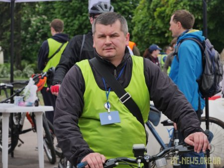 Майже 2 тисячі велосипедистів проїхали вулицями Житомира