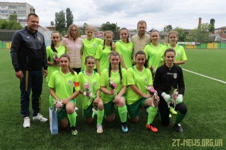 Житомирська дівоча команда з футболу дебютувала у Чемпіонаті України
