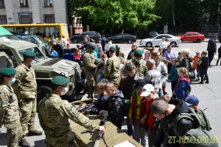 Майстер-класи, святкові концерти, ігри - у Житомирі святкують Міжнародний день захисту дітей