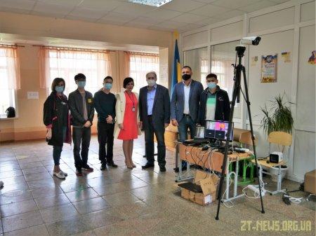У житомирській школі протестували інтелектуальну відеосистему скринінгу температури