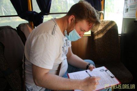 Управління транспорту спільно з службою контролю перевіряють громадський транспорт Житомира