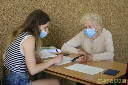 У Житомирі за пів дня щепили пів тисячі людей