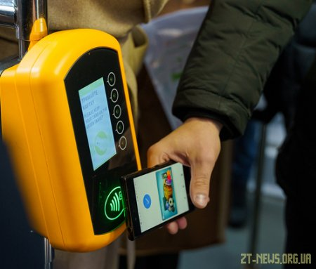 У громадському транспорті Житомира знову можна оплатити проїзд за допомогою NFC