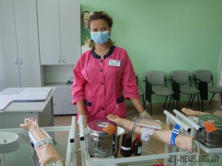 У Житомирі відкрили тренінговий центр для навчання студентів-медиків