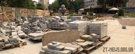 Реконструкція Нового бульвару у Житомирі затягується ще на два місяці