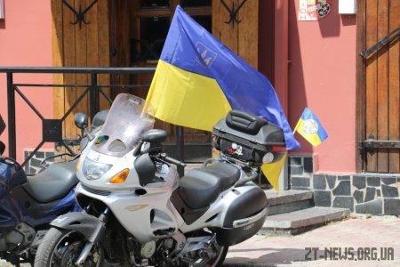 Учасники Мотопробігу єдності відвідали Житомир