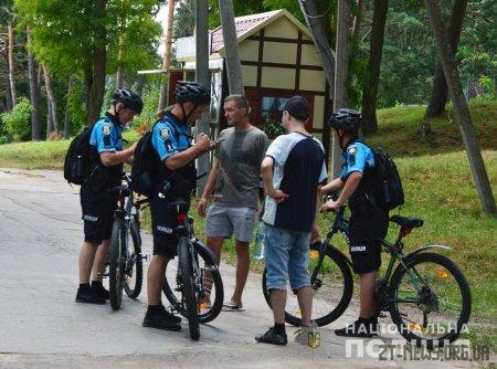 Поліцейські посилили патрулювання території гідропарку