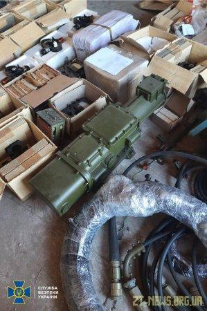 СБУ запобігла нелегальному вивезенню з України комплектуючих до зенітно-ракетних комплексів