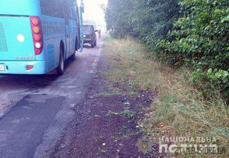 На Житомирщині автобус збив двох велосипедистів