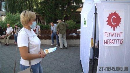 У Житомирі усіх охочих перевіряли на гепатит С