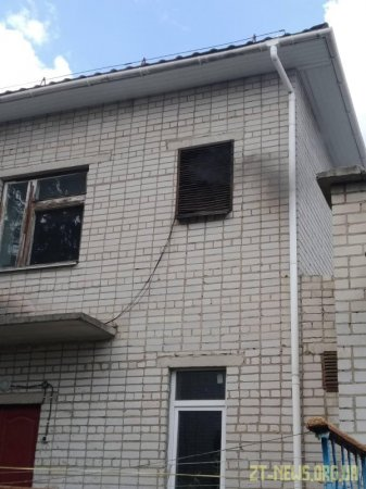 На Житомирщині поліцейські охорони запобігли пожежі у дитсадку
