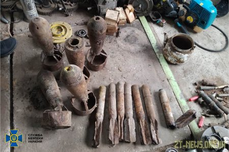 СБУ запобігла потужному вибуху на Житомирщині: викрито ділків, які добували тротил із авіабомб