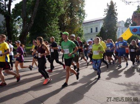 Напередодні Дня пам'яті захисників України у Житомирі відбувся патріотичний забіг