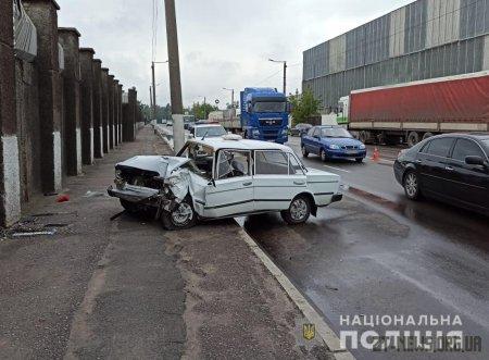 На проспекті Незалежності зіткнулися дві автівки