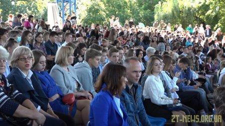 Більше 70 учнів стали ліцеїстами наукового ліцею при ЖДУ імені Франка