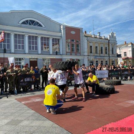 У Житомирі визначили переможців чемпіонату з кросфіту