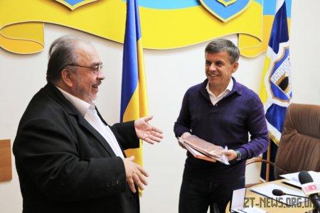 Ярослава Теплого нагородили відзнакою «За заслуги перед містом Житомиром IIІ ступеню»