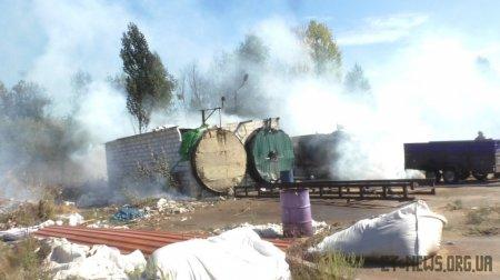 На підприємстві у Житомирі вибухнула 200-літрова бочка