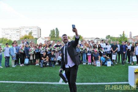 Кращі спортсмени Житомира отримали стипендії міського голови