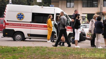 В Житомирському медичному інституті розпилили невідому речовину