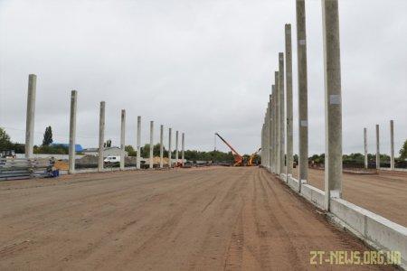 У Житомирі триває будівництво сміттєпереробного заводу