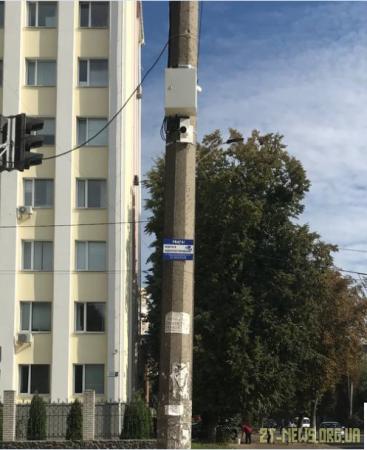 У сквері на майдані Путятинському встановили камери відеоспостереження