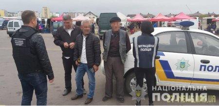 У Житомирі поліцейські під час рейду виявили 4 іноземців-нелегалів