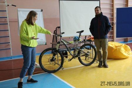 В рамках Європейського тижня мобільності у Житомирі організували велошколу