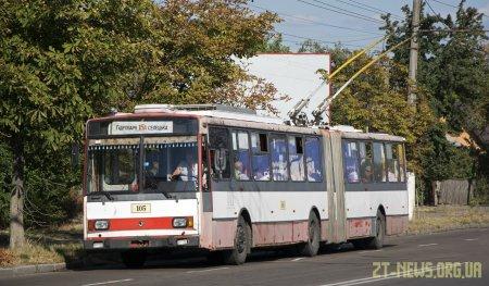 Через перекриття вулиці Шевченка зміниться схема руху тролейбусів №15А