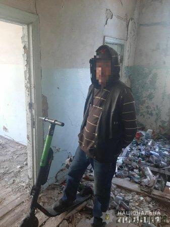 У Житомирі поліцейські охорони розшукали викрадений прокатний електросамокат